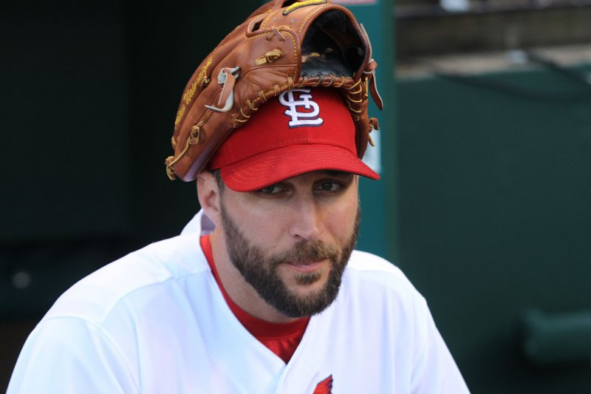 Adam Wainwright St Louis Cardinals Shut Down Chicago