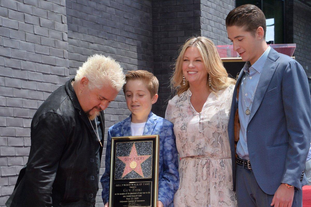 Guy Fieri Receives Star On Hollywood Walk Of Fame Upicom