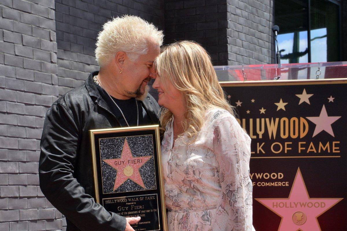 Guy Fieri Receives Star On Hollywood Walk Of Fame Upi Com