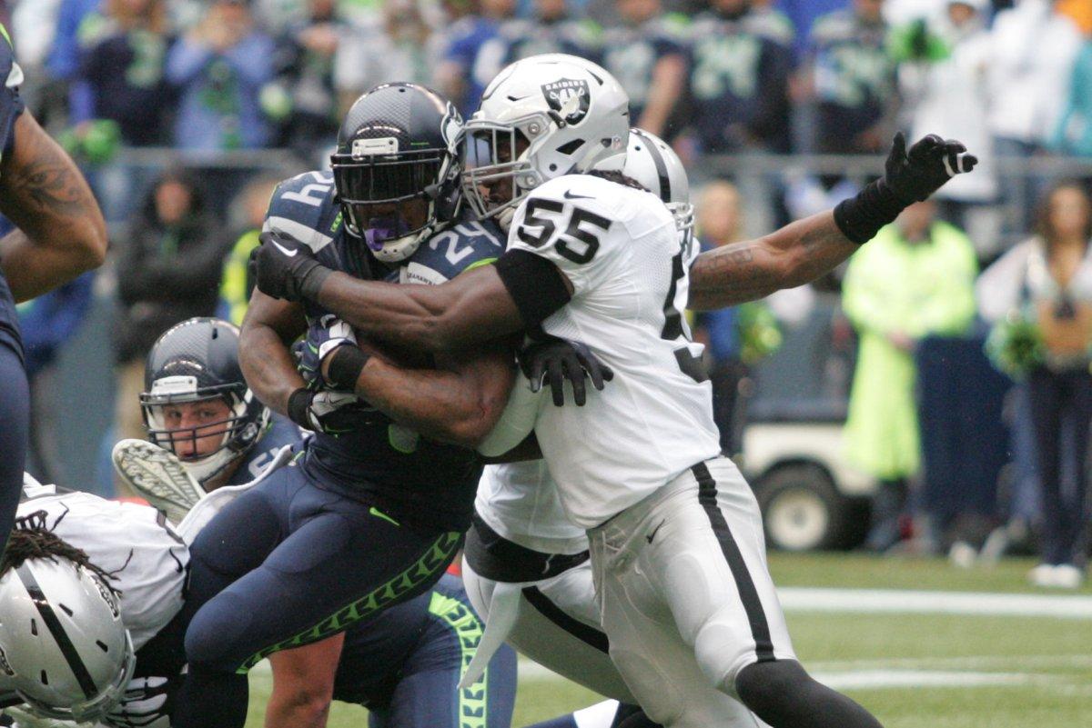 Former Seattle Seahawks RB Marshawn Lynch tells Oakland ...
