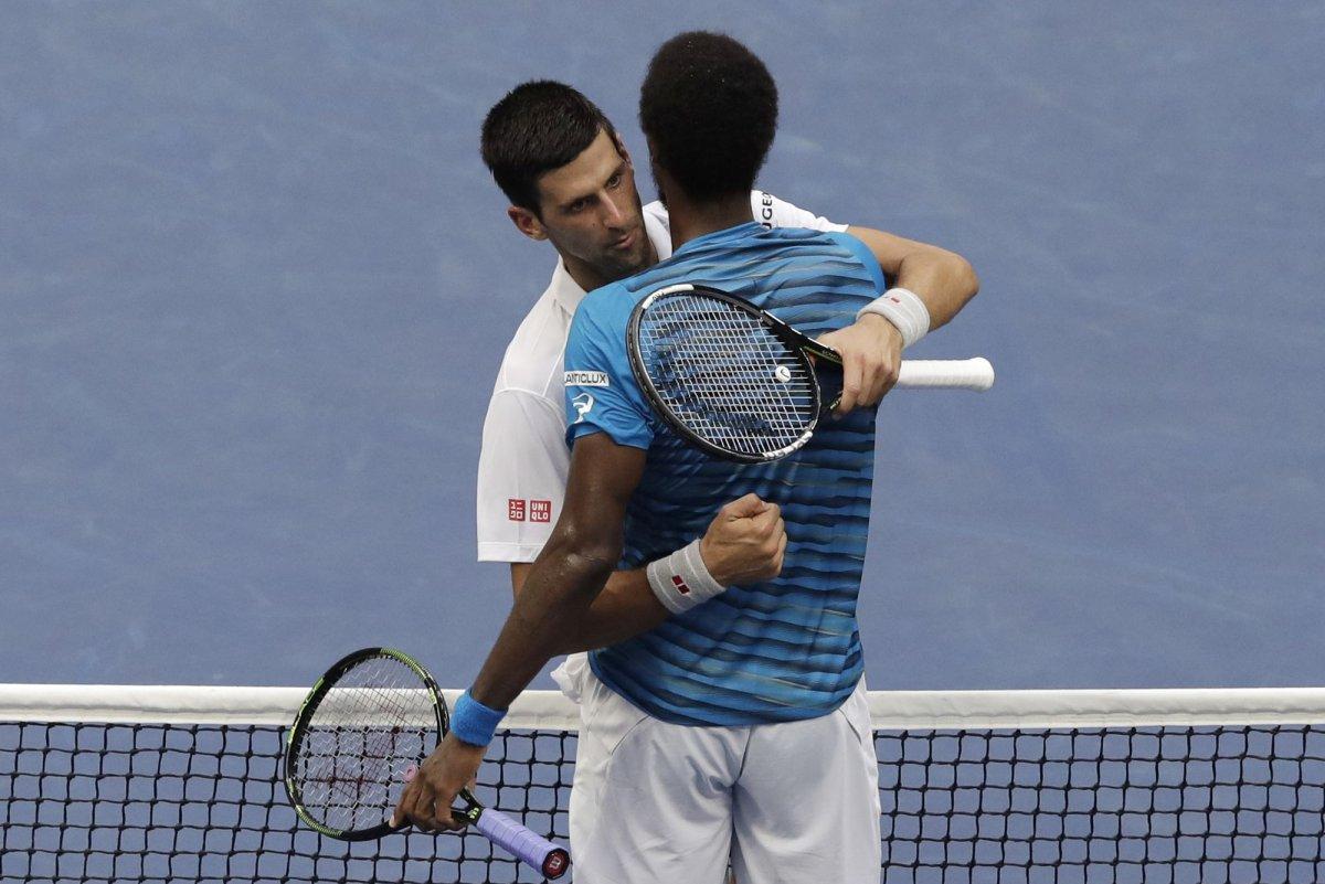 U S Open 2016 Novak Djokovic Eliminates Gael Monfils In Circus Like Match Upi Com
