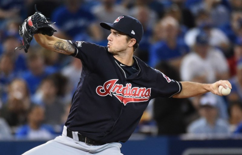 2942cdc22 CLEVELAND -- Ryan Merritt pitched 6 2 3 scoreless innings and Francisco  Lindor had two hits