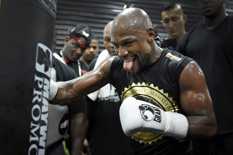 Mayweather vs McGregor: Fighters request to wear 8-ounce ...