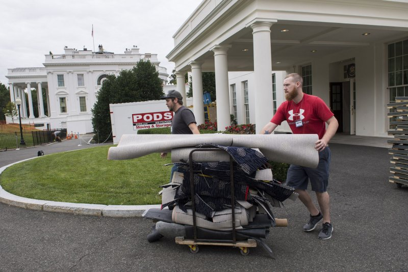 White House renovations about halfway complete - UPI.com