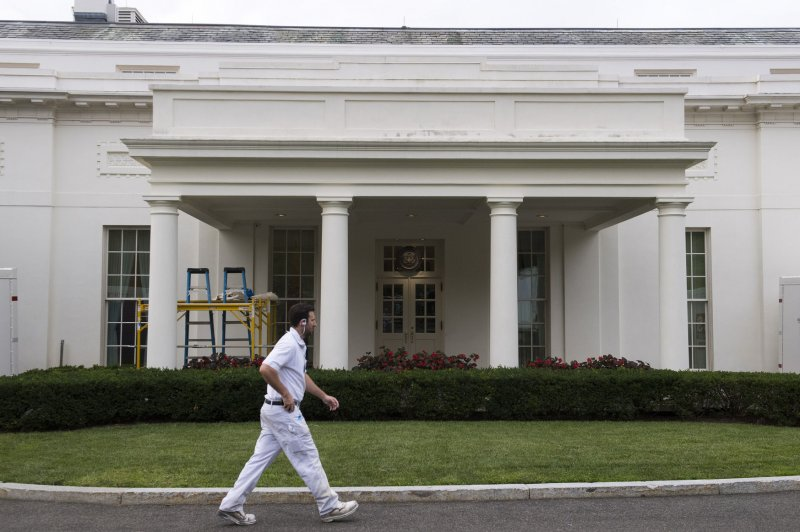 White House Renovations About Halfway Complete