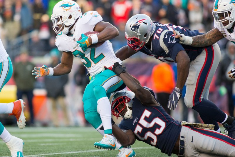 bafa403c1a8 27 (UPI) -- Damien Williams is not expected to play for the Miami Dolphins  in Week 13, making Kenyan Drake the team's lead running back.