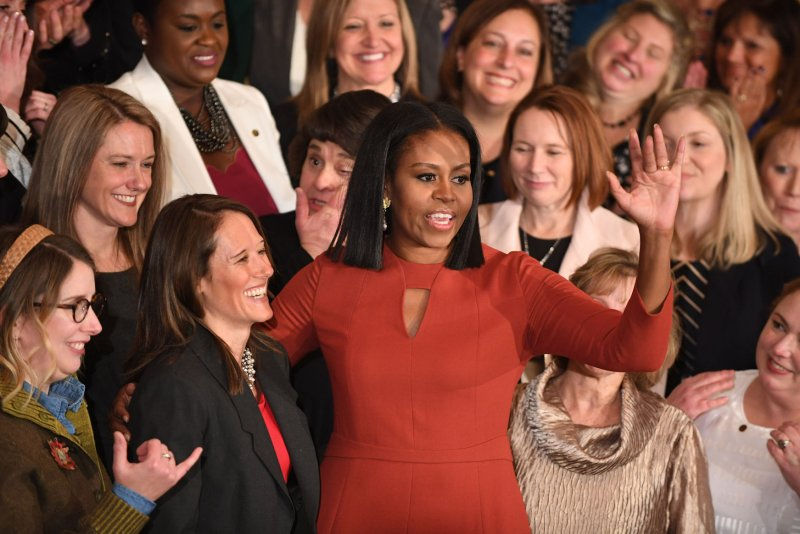 Michelle Obama in final speech as first lady: 'I hope I have