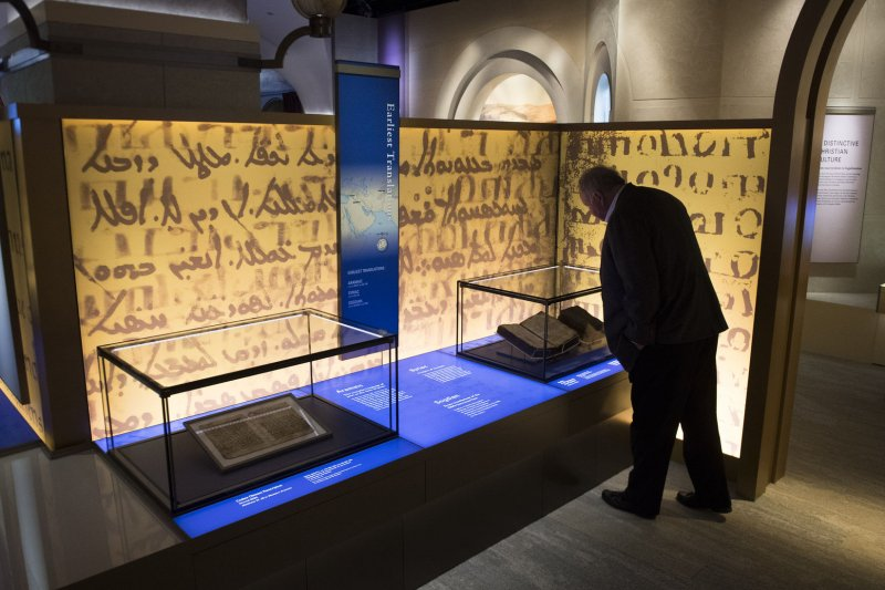 Museum of the Bible ready to open giant Gutenberg-inspired doors in D.C. - UPI.com & Museum of the Bible ready to open giant Gutenberg-inspired doors in ...