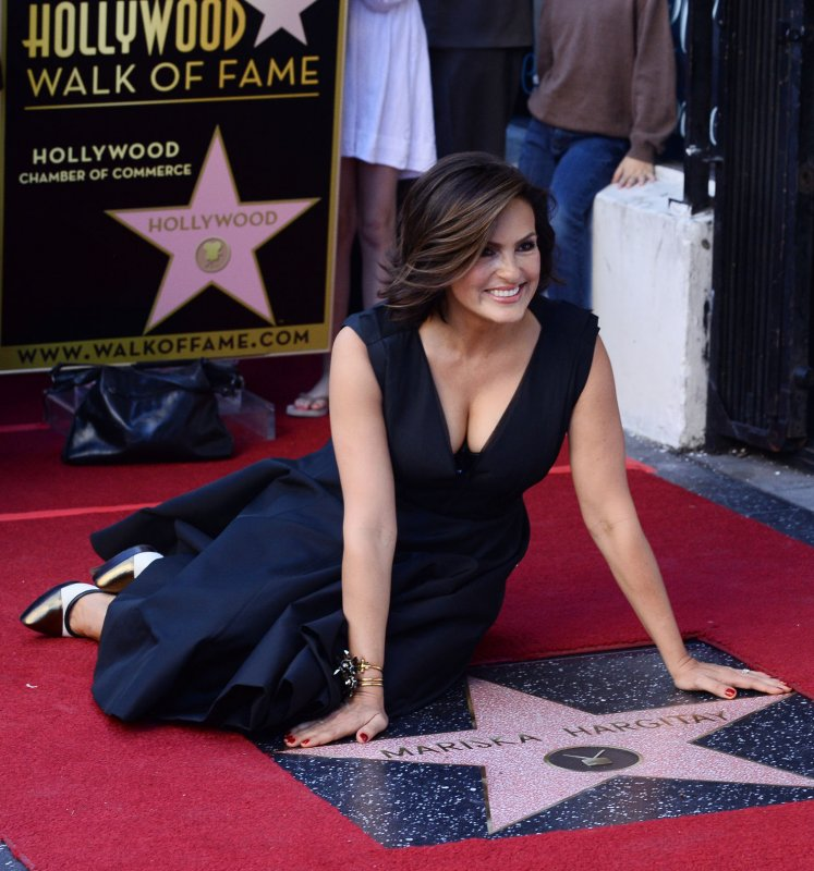 Mariska Hargitay Gets Hollywood Walk Of Fame Star Next To