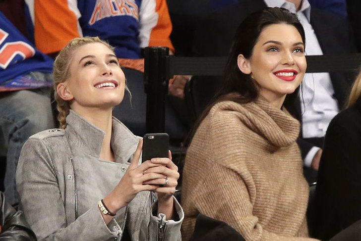 Hailey Baldwin, Kendall Jenner go to church with Justin ...