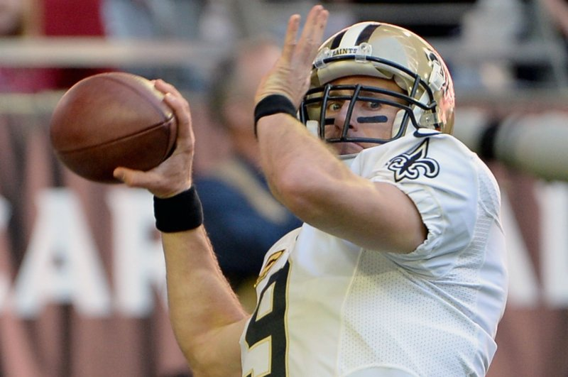 Drew Brees plans to sling until he's 45-years-old - UPI.com