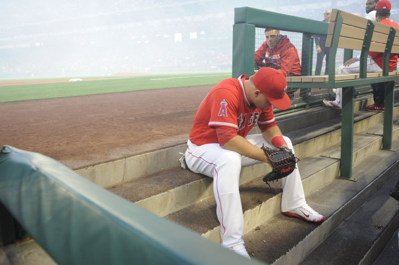 64bab6064 Los Angeles Angels' Mike Trout writes emotional goodbye to brother-in-law -  UPI.com