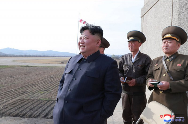Kim Jong Un makes surprise visit to North Korea air force