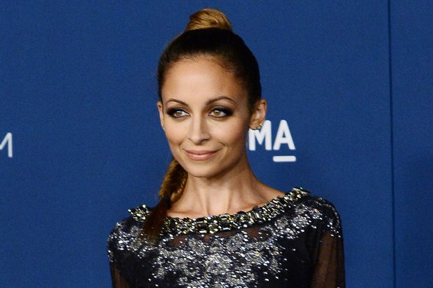 Nicole Richie Shows Off New Blue Hair Discusses Her