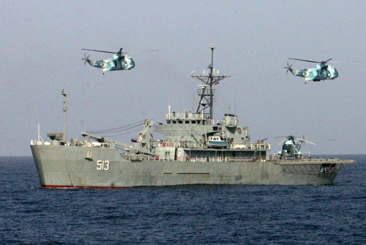 Iran Threatens War If Israeli Warships Enter The Persian Gulf - Upicom-4289