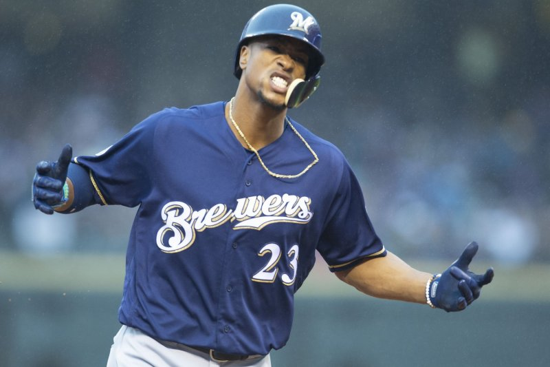 177206a6c9b New York Mets OF Keon Broxton selling puppies - UPI.com