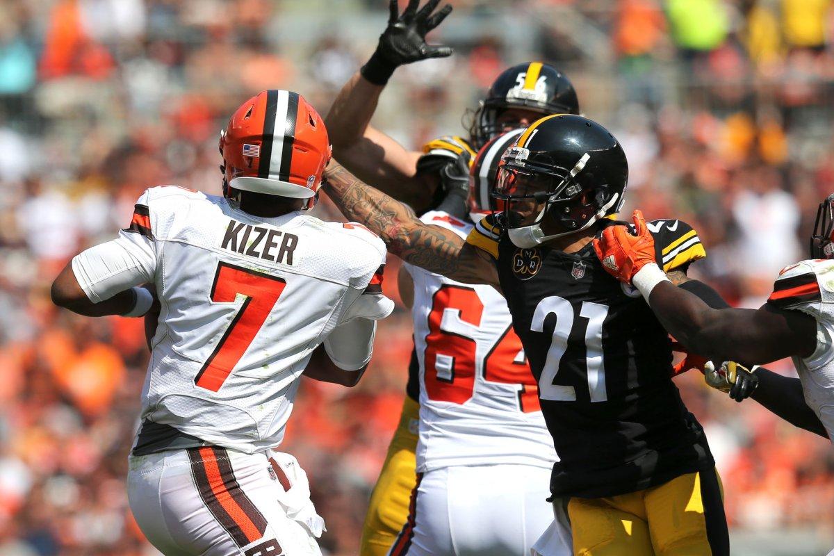 big sale e6187 6c473 Pittsburgh Steelers: Joe Haden takes jab at winless ...