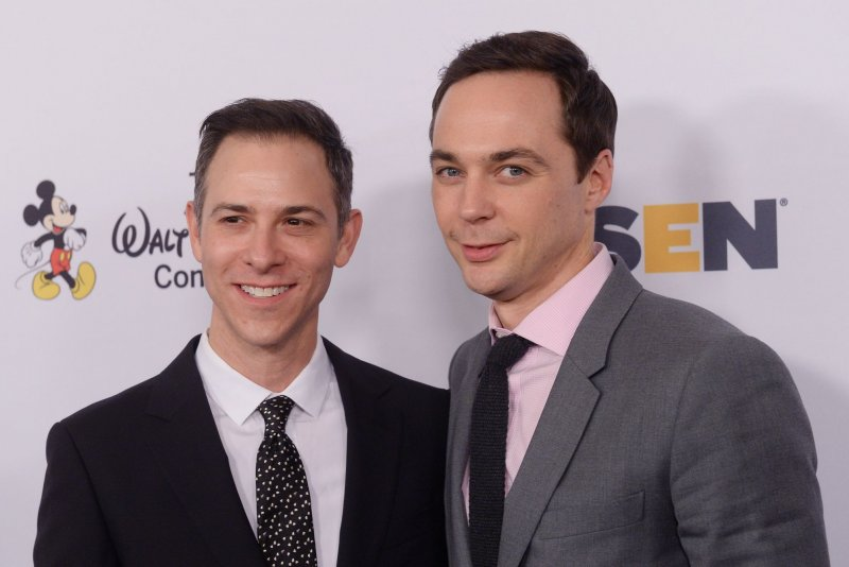 Jim Parsons Jim Parsons on Big Bang Theory spinoff Im really excited UPIcom