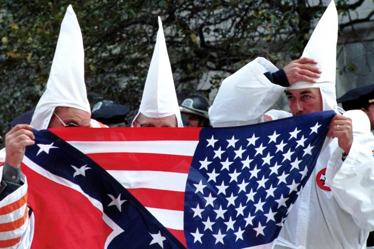 Loyal White Knights head Robert Jones says rival KKK leader Frank Ancona 'ain't even white ...