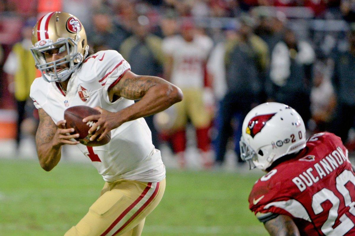 San Francisco   ers QB Colin Kaepernick to start vs New York Jets     UPI com
