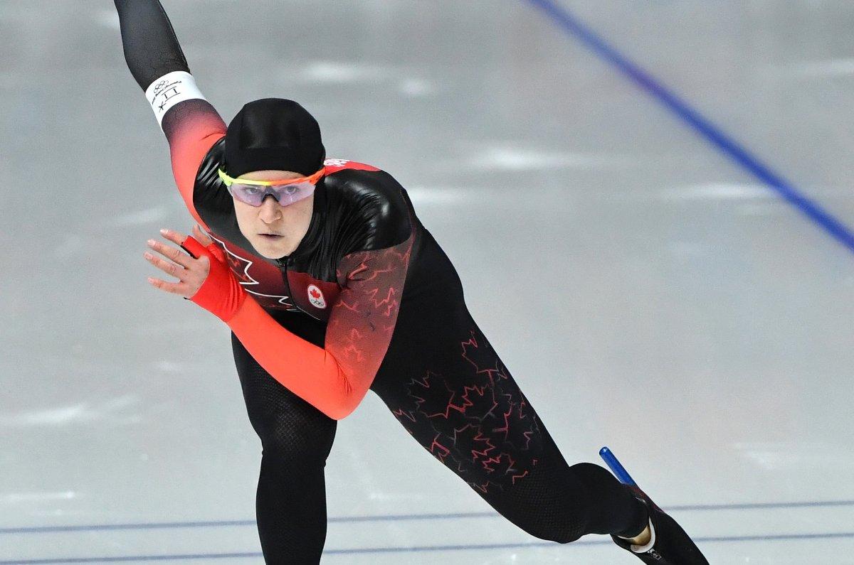 Speedskater Jorien ter Mors breaks Olympic record for gold ...
