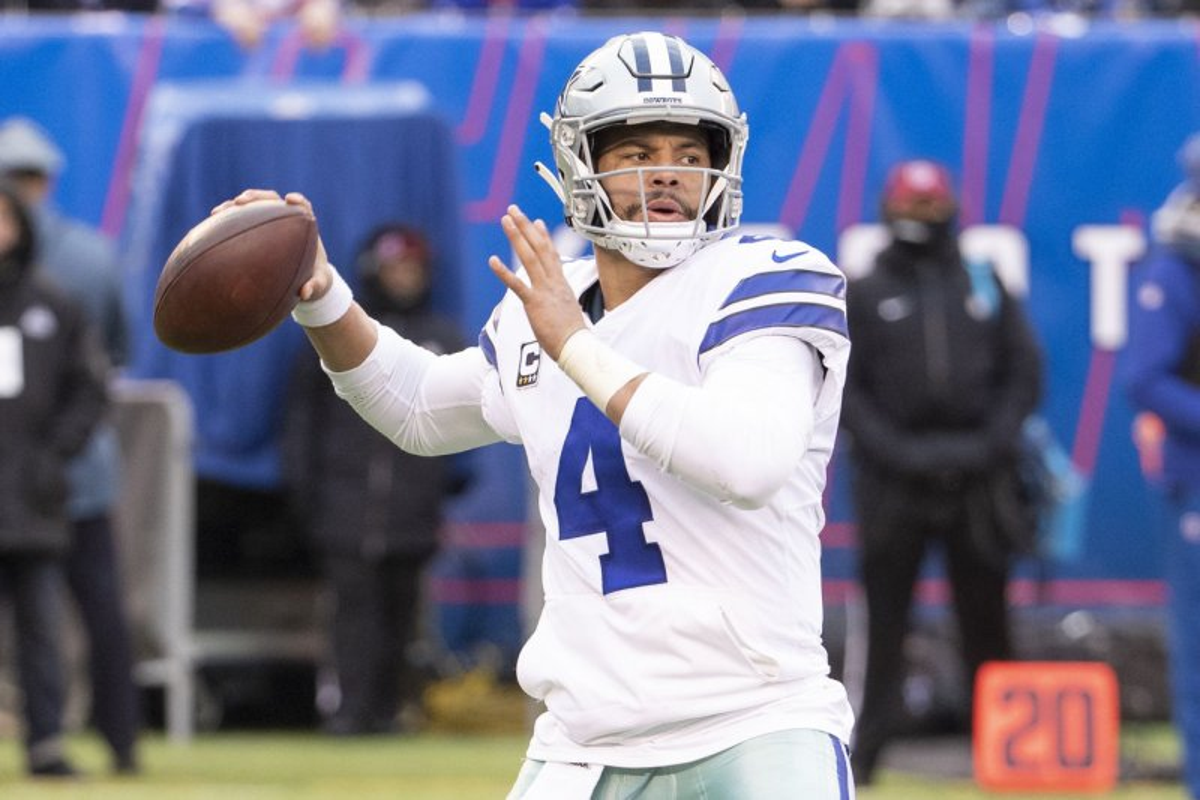 Dak Prescott Leads Dallas Cowboys By New York Giants Upi Com