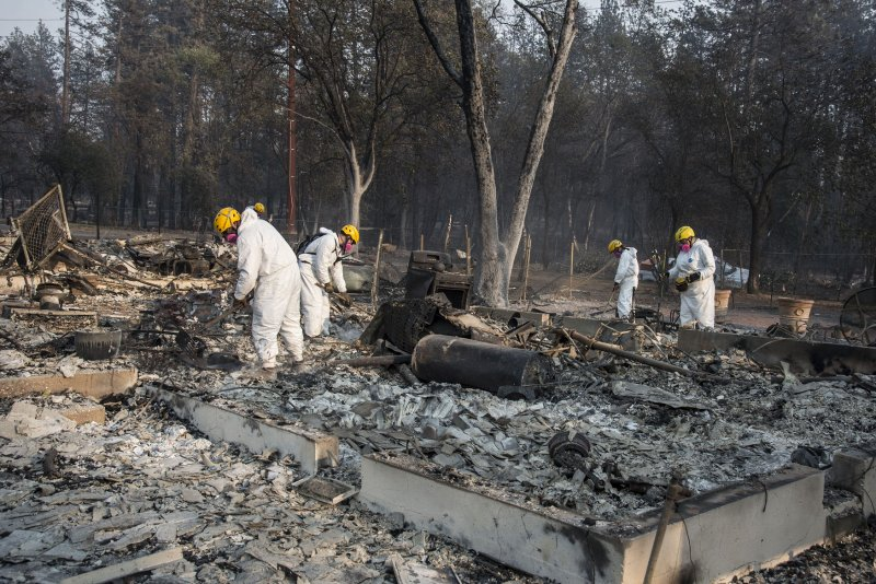 Camp Fire victims' lawsuit blames utililty company for disaster