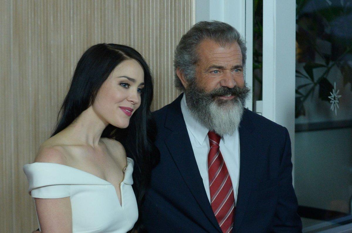 Mel Gibson Girlfriend Rosalind Ross Attend Hollywood Film