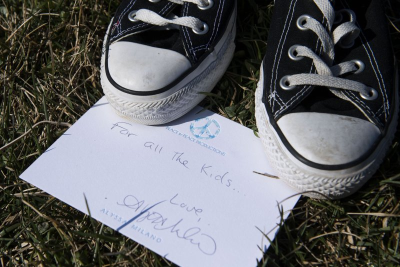 e42299b774fd 7K pairs of shoes show children killed by U.S. gun violence in last 5 years  - UPI.com
