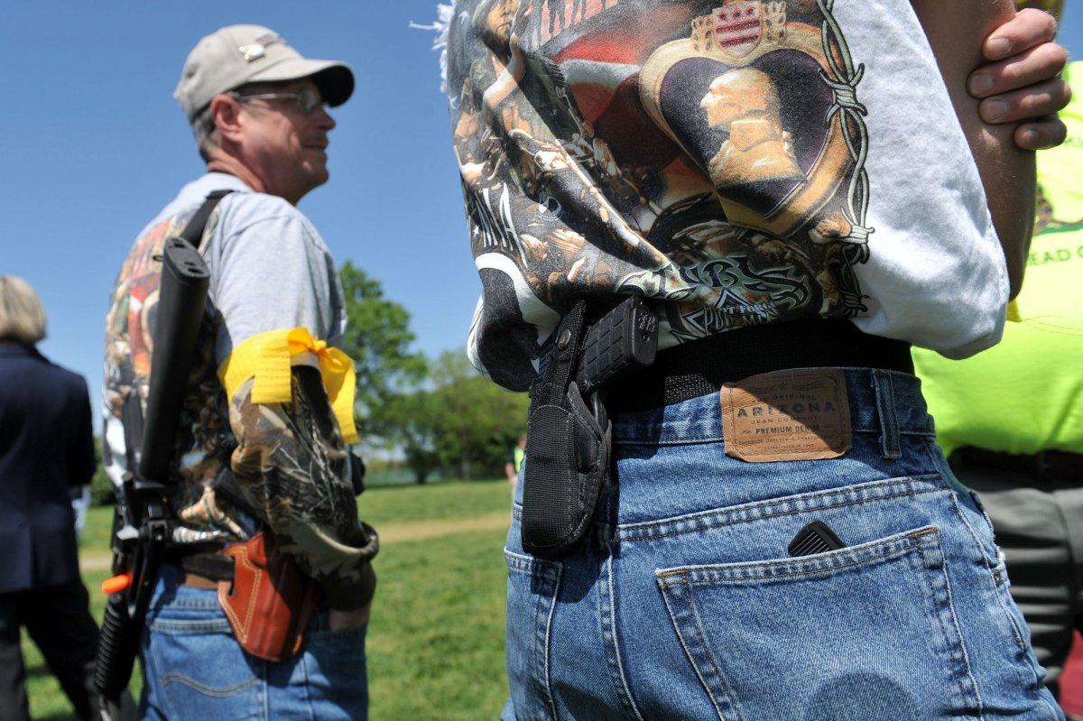 New Texas Gun Law Allows Open Carry Upi Com