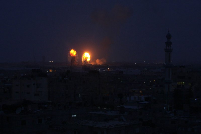 Israel Says Gaza Rockets That Led To Airstrikes Fired By