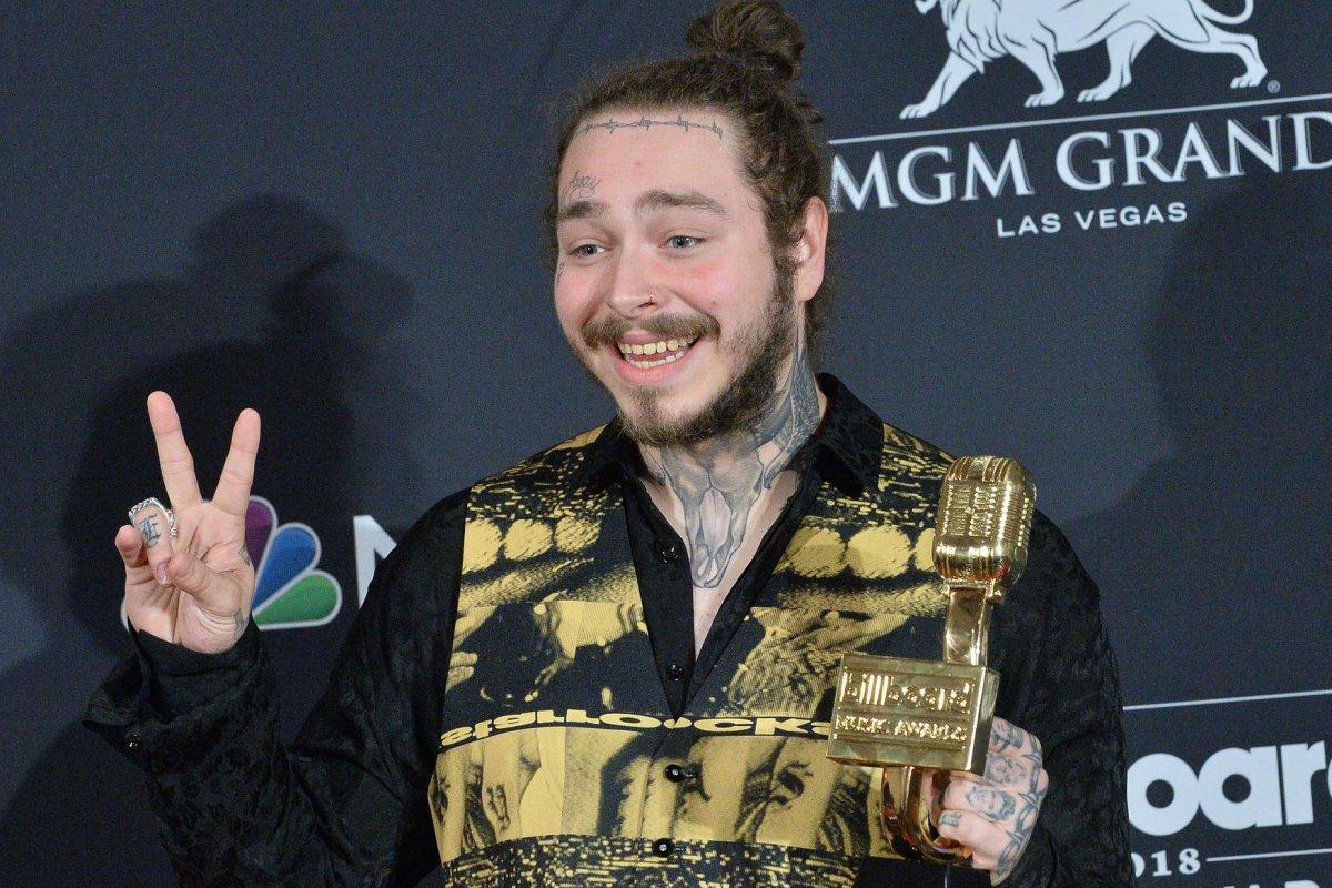 Post Malone Says Justin Bieber Inspired Him To Get Tattoos Upi Com