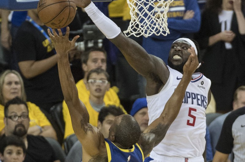 leaves Montrezl Angeles Clippers
