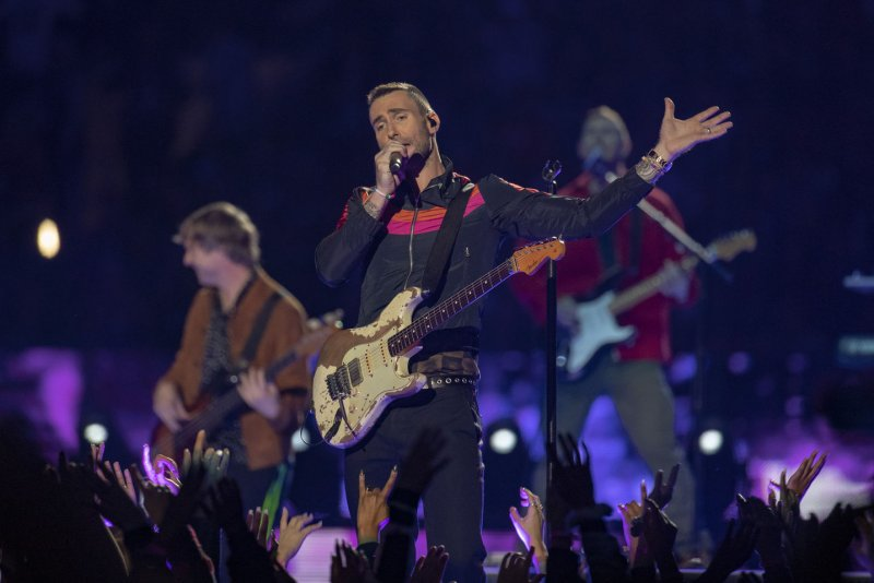 Adam Levine And Maroon 5 Headline Super Bowl Halftime Show