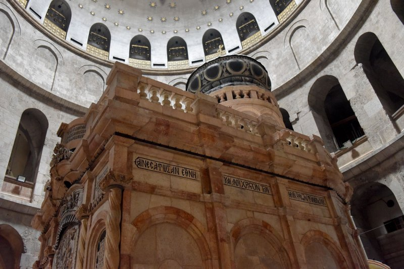 Restoration Of Church Of The Holy Sepulchre Is Completed