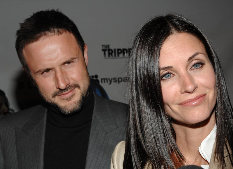 Courtney Cox Happy To Direct Ex David Arquette In Just