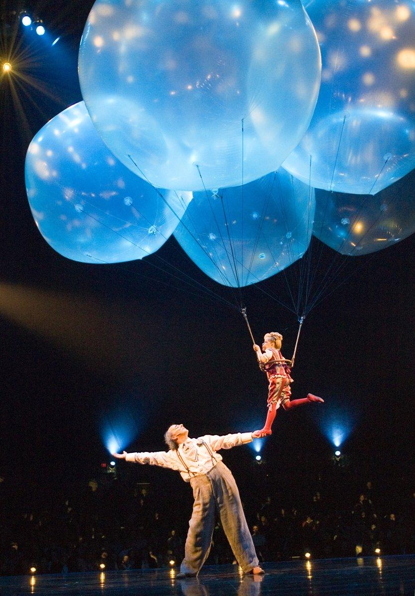 Cirque du Soleil celebrates 25 years - UPI.com