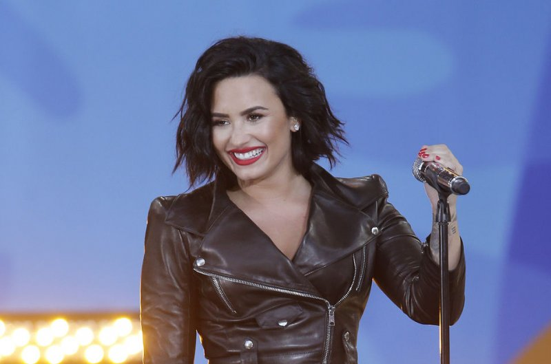 Demi Lovato shares 'Smurfs: The Lost Village' poster - UPI.com