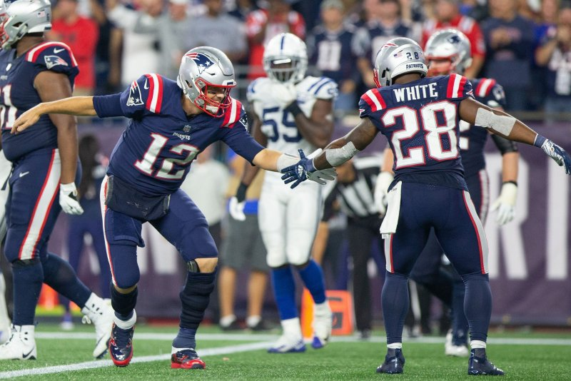 Watch: Patriots' Tom Brady throws 500th career touchdown ...