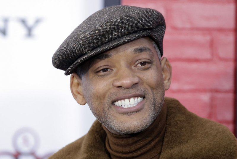 will smith spotted with bald head on sucide squad set upi com