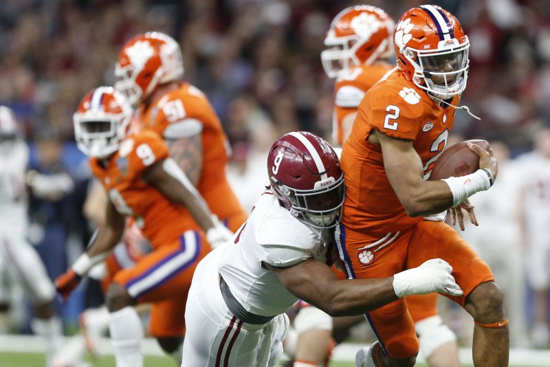 2 Clemson enjoyed a 38-7 rout of Georgia Southern on Saturday but may have  some concerns about quarterback Kelly Bryant. Bryant did not play in the  second ... 5ef9a17f7