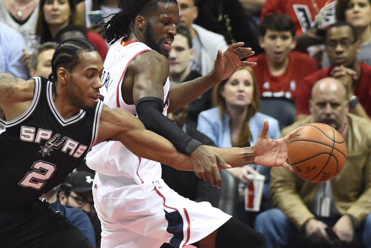 Kawhi Leonard's 41 points lift San Antonio Spurs past Cleveland Cavaliers in OT