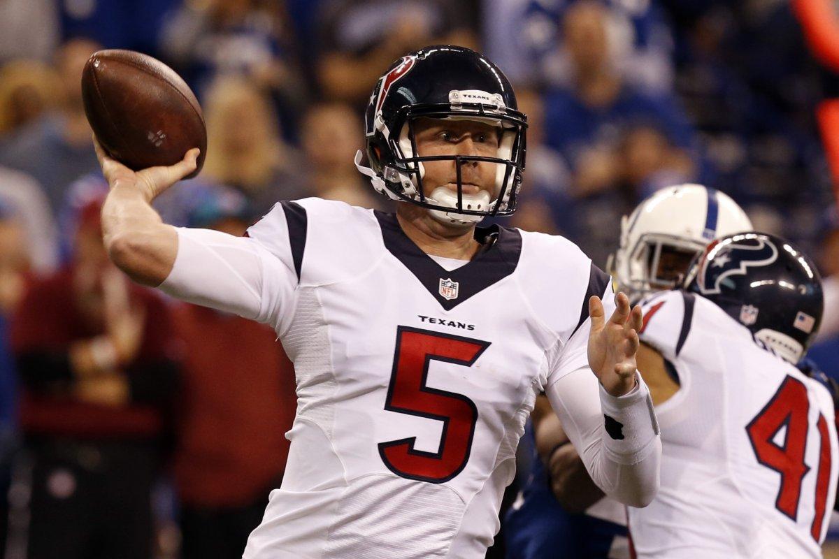 Brandon Weeden: Houston Texans reach deal with former Browns ...