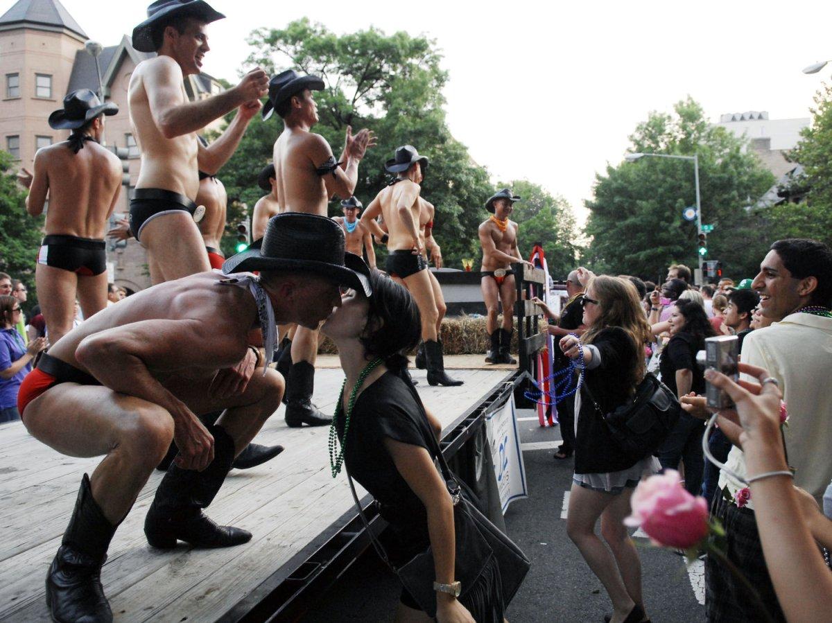Dispersal of the gay parade in Belgrade