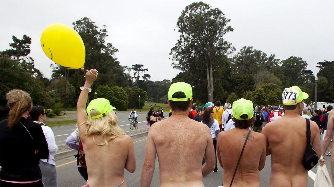 Nude activist dresses down supervisors - SFGate
