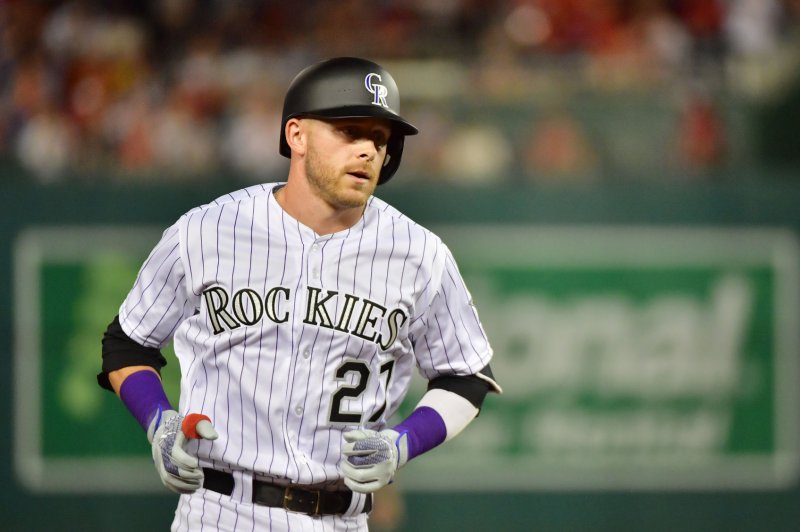 Watch: Rockies' Trevor Story clobbers 471-foot HR, sets team record