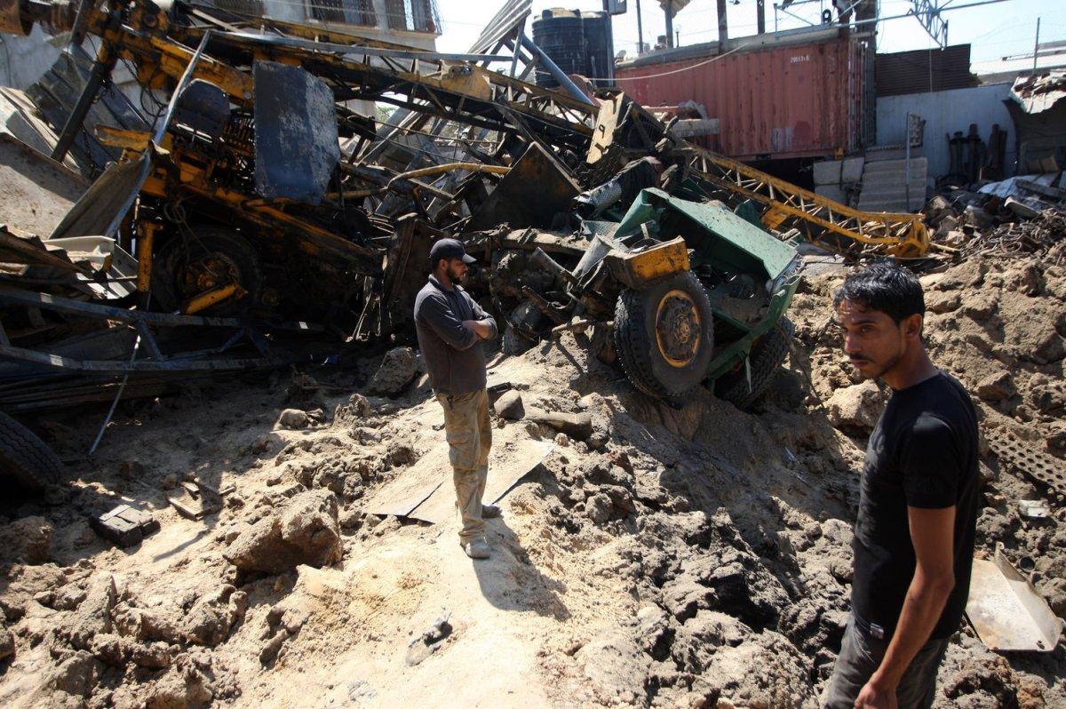 Israeli airstrikes hit four sites on Gaza Strip - UPI.com