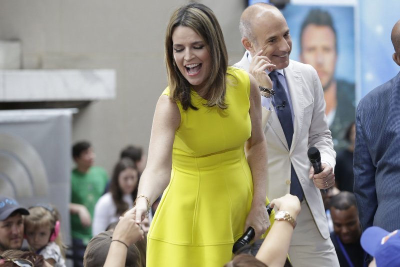 Today S Savannah Guthrie Husband Michael Feldman Welcome Second Child Upi Com