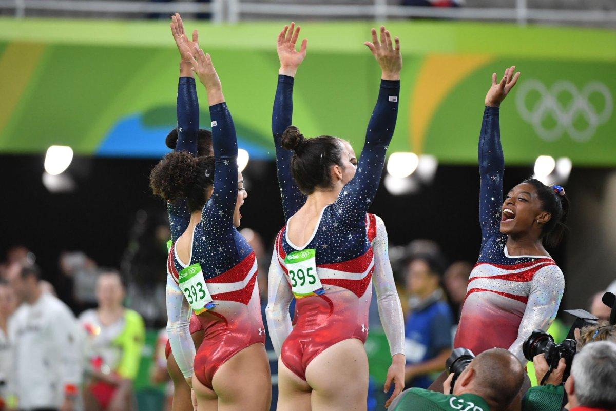 Rio Olympics: Simone Biles, 'Final Five' dominate in gymnastics team final - UPI.com