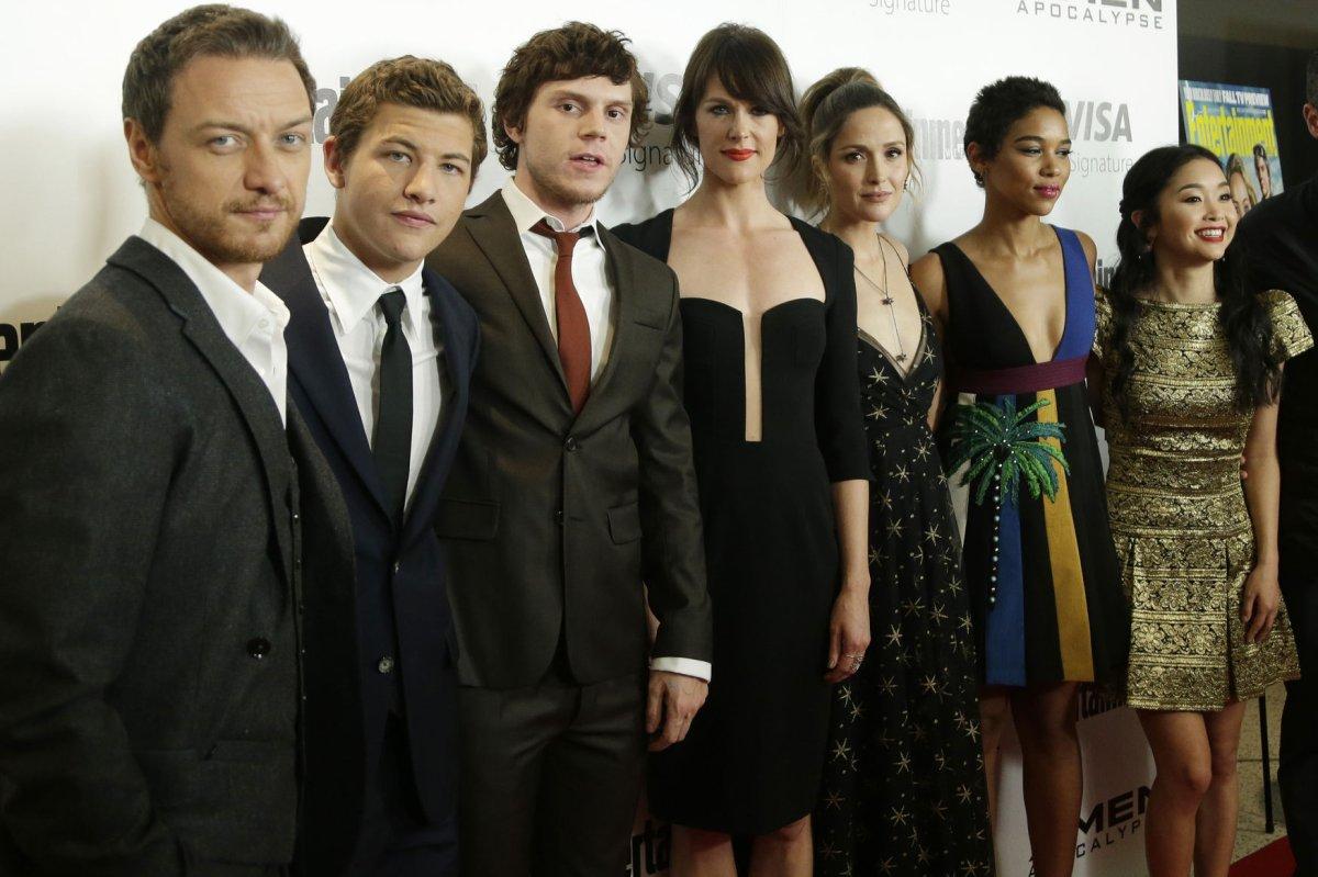'X-Men' star Evan Pete...
